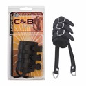 Ball Stretcher - 3'' Black Leather